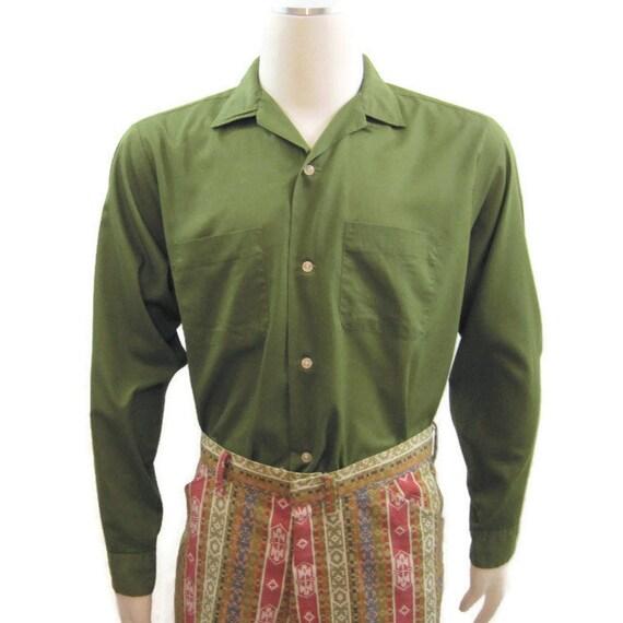 Vintage 60s Shirt Penneys Towncraft Penn Prest Loo