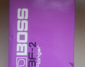 Boss BF-2 flanger  pedal box (BOX ONLY)