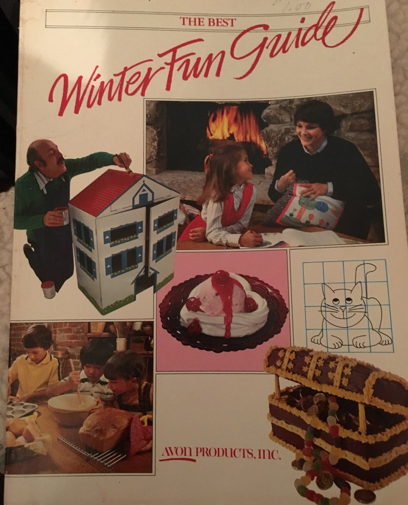 The Best WINTER FUN Guide Avon Family Activities 1980 80