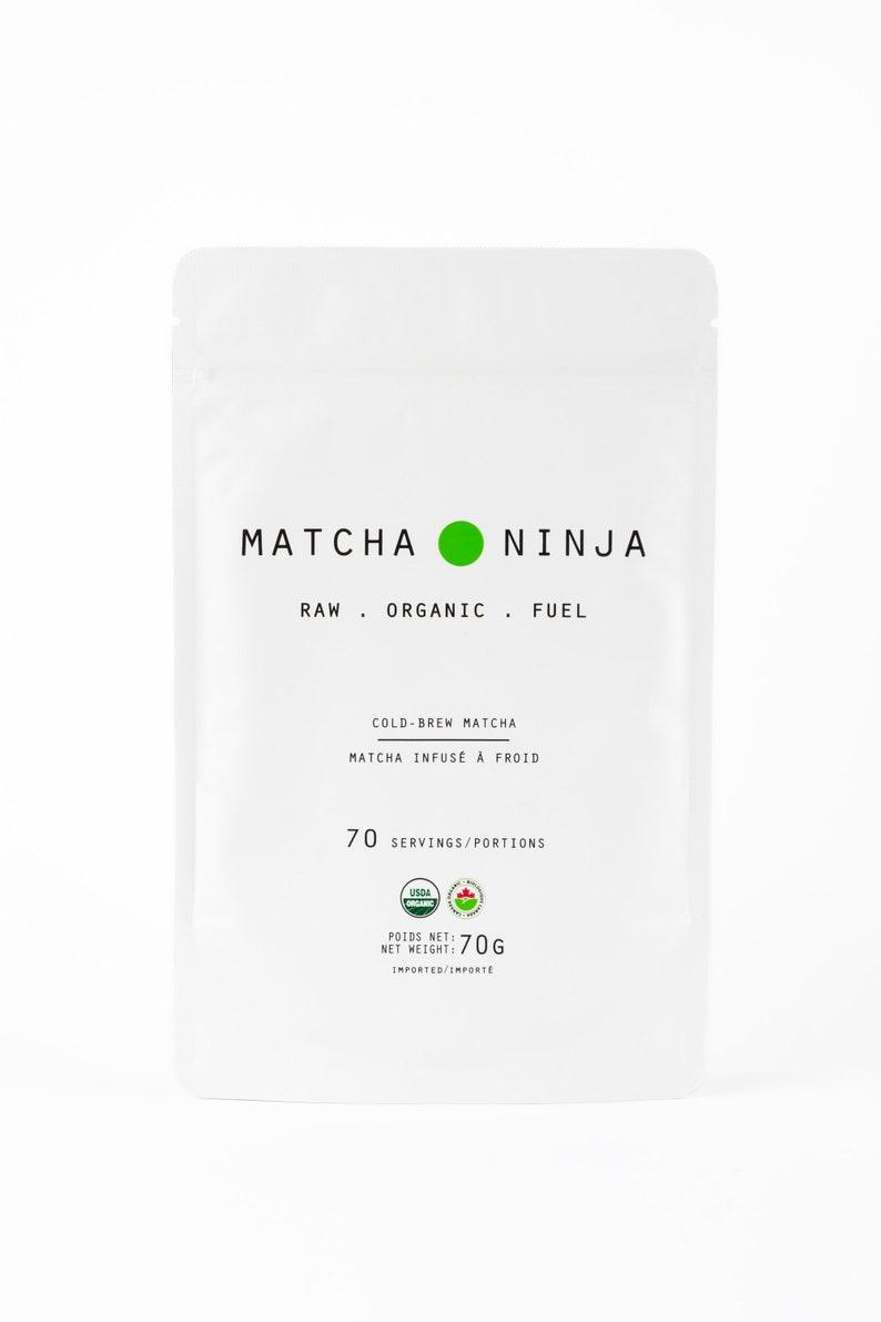 Ceremonial Grade Organic Matcha Green Tea. 70 servings. image 0