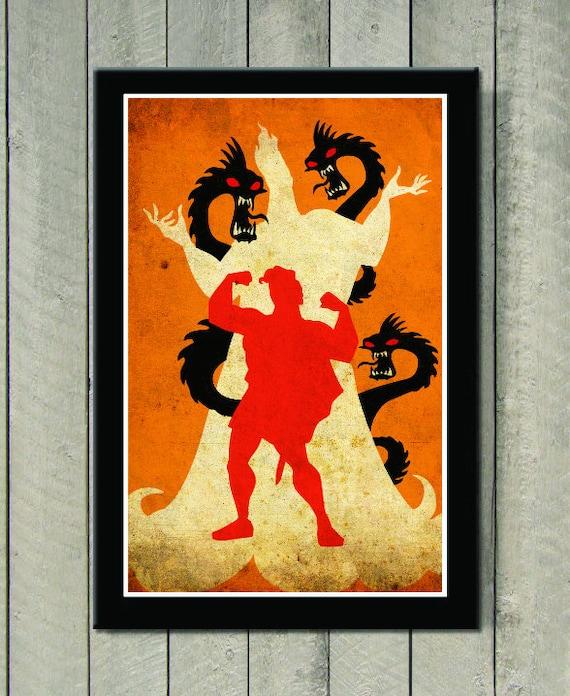 Disney Movie Poster Hercules
