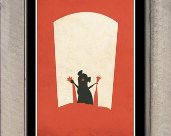 Disney Pixar movie poster - Ratatouille