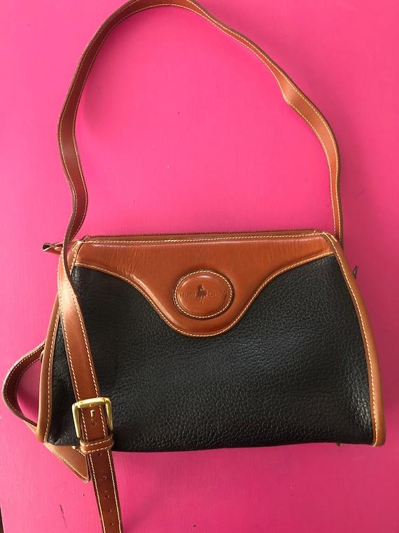 2 Vintage leather purses 1980s / 1990s handbags po