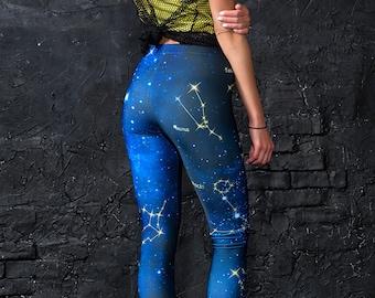0c0e97d0334bbf Zodiac Leggings, Stars Leggings, Astrology Leggings, Astronomy Leggings,  Moon Leggings, Astronomy Gifts, Science Leggings, Science Clothing