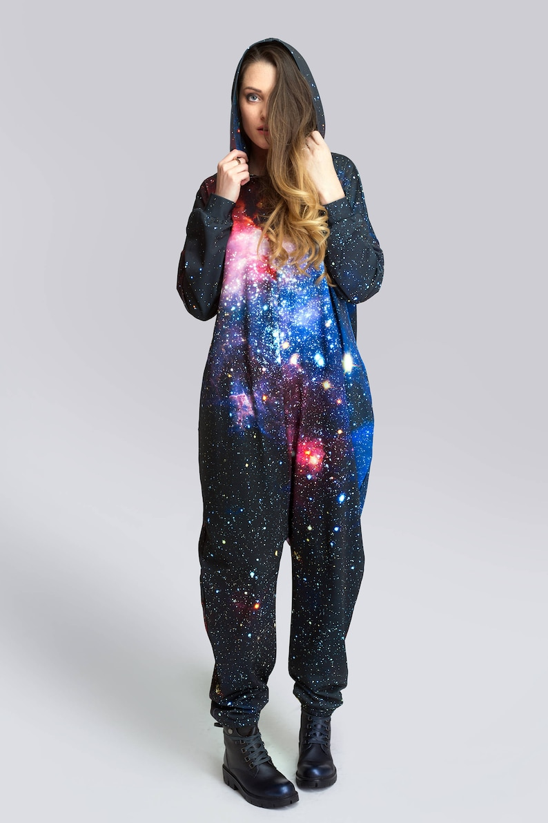 57c21b7b35b Galaxy Adult Onesie Galaxy Onesie Galaxy Jumpsuit Womens