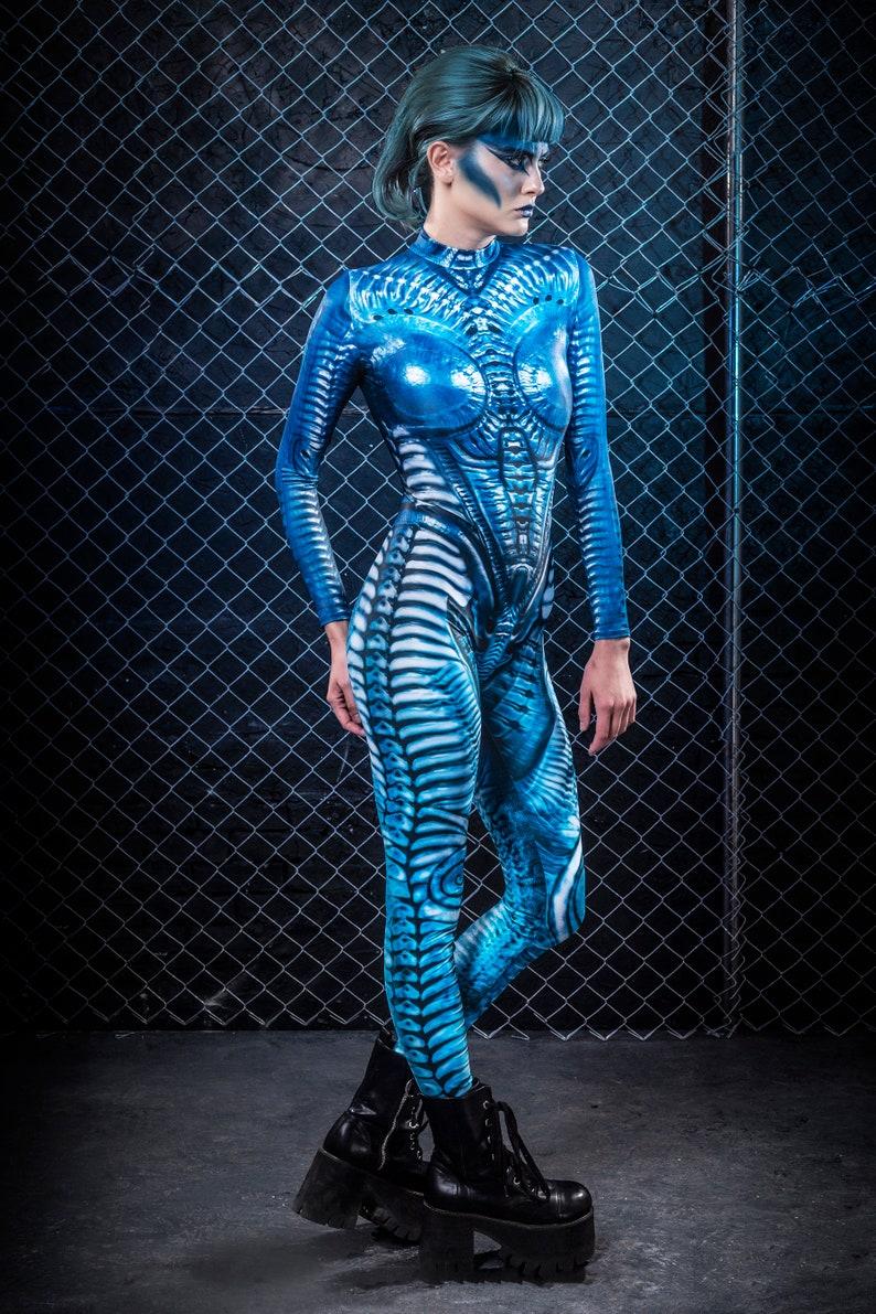 Sexy Alien Costume Women Glow in the Dark Costume ...