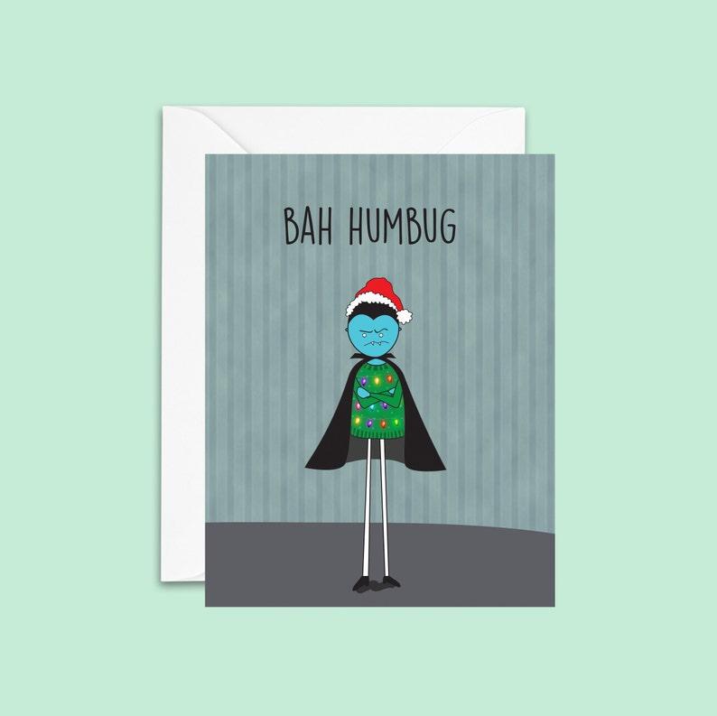 Bah Humbug Holiday Card image 0