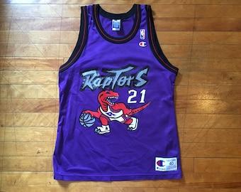 Vintage Marcus Camby Toronto Raptors NBA Champion Jersey 40 46fe3f958