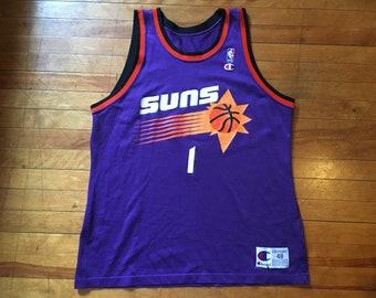 71e400e7605 Vintage Cedric Ceballos Phoenix Suns Champion Jersey 48