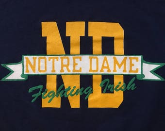 Vintage Notre Dame Fighting Irish T-Shirt