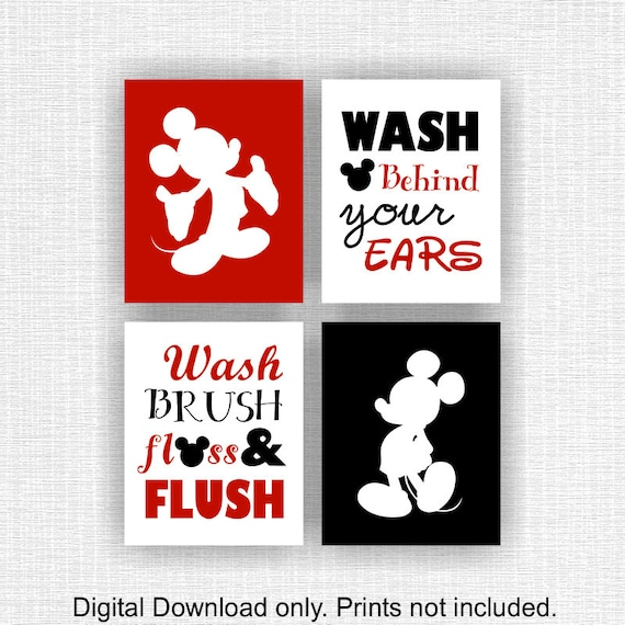 3 MICKEY MOUSE LIGHT SWITCH COVER PLATE SET BLACK WHITE DISNEY CHILD ROOM DECOR