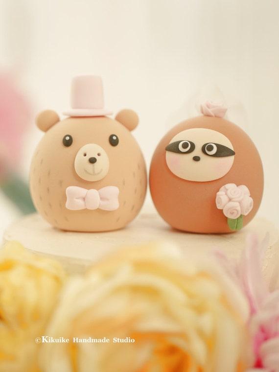 Capybara Und Faultier Hochzeitstorte Etsy