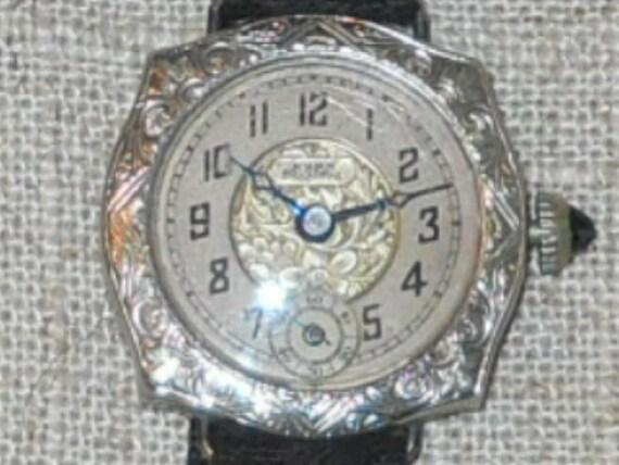 Art Deco Swiss watch