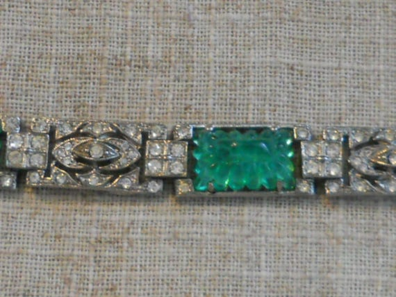 kenneth J Lane KJL Lane Art Deco style bracelet
