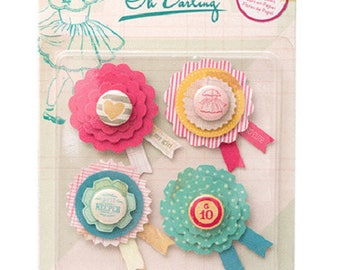 """Paper - Collection """"Oh Darling"""" embellishments"""