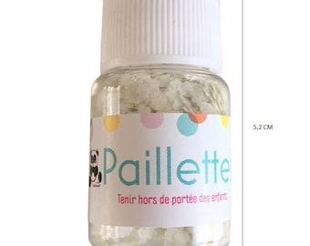 Glitter cloud - white - 10 grams
