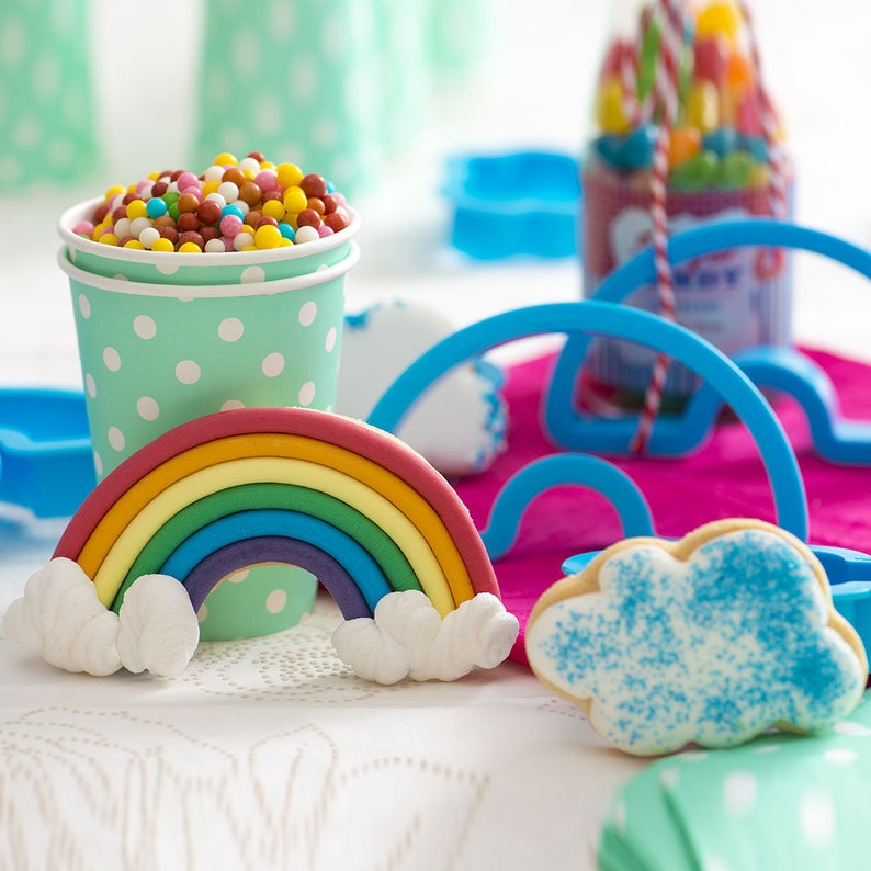Take rainbow piece