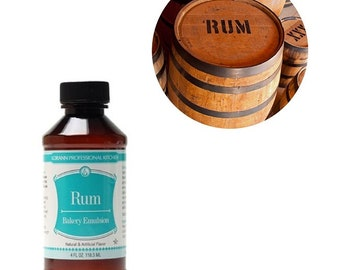 Bakery - rum - 118 ml emulsion