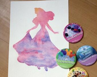 Sleeping Beauty Princess Silhouette [Digital Download]