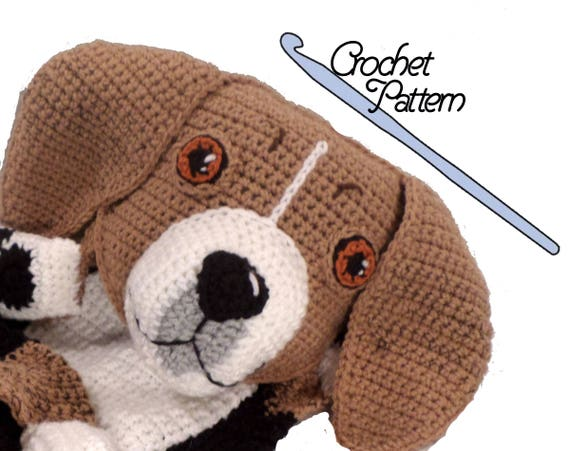 Crochet Hound Dog Part 1 of 2 DIY Tutorial - YouTube | 451x570