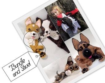 PATTERN BUNDLE: Herding Group 1 // German Shepherd // Border Collie  // Corgi // Cattle Dog // Save // Special Price // Herding Dogs // DIY