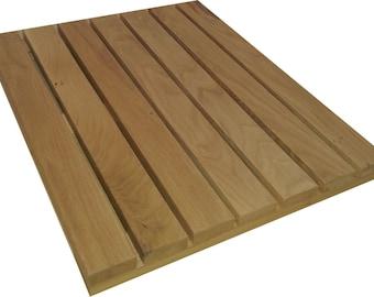 Med/Large Solid oak duckboard