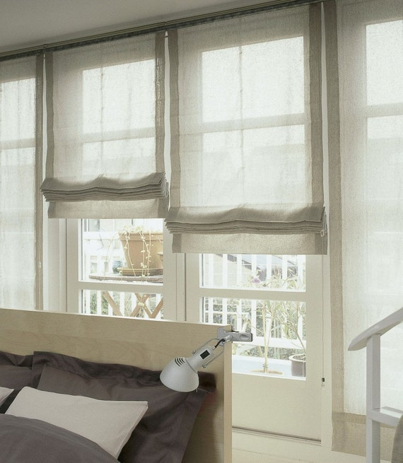 Farmhouse Window Treatments Grey Walls