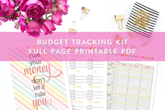 budget planner kit printable budget and bill planning kit finances
