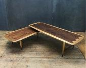 Lane Acclaim Switchblade Swivel Pivot Coffee Table Rare Vintage Mid-Century Modern