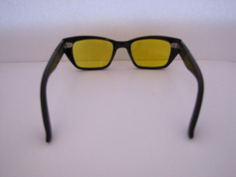 Vintage Night Driving Sunglasses (B/Y) Italy