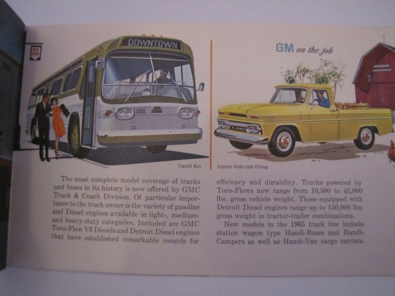 Vintage 1965 General Motor Catalog To Serves you in The Home or On the Job  (shareholder catalog)