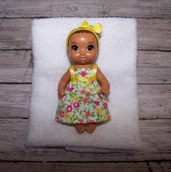 Krissy doll clothes Light Pastels