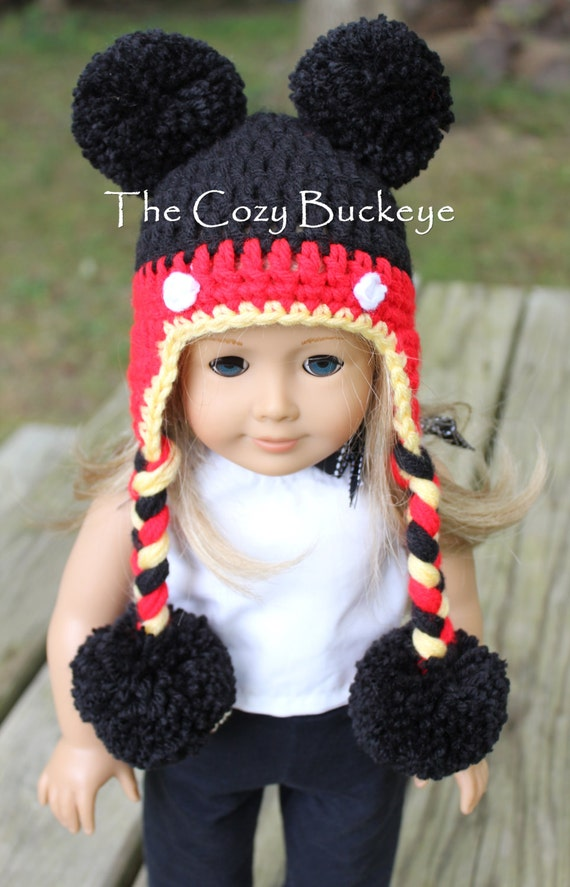 Instant Download Crochet Pattern Mickey Mouse Hat For Etsy