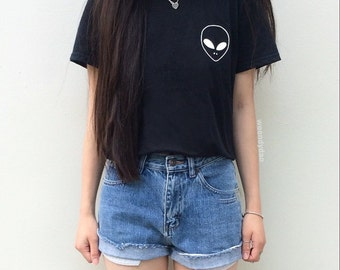 Alien Pocket Tee Alien Shirt