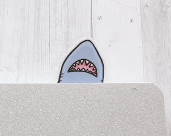 Scary Shark Personalised Jumbo Magnet
