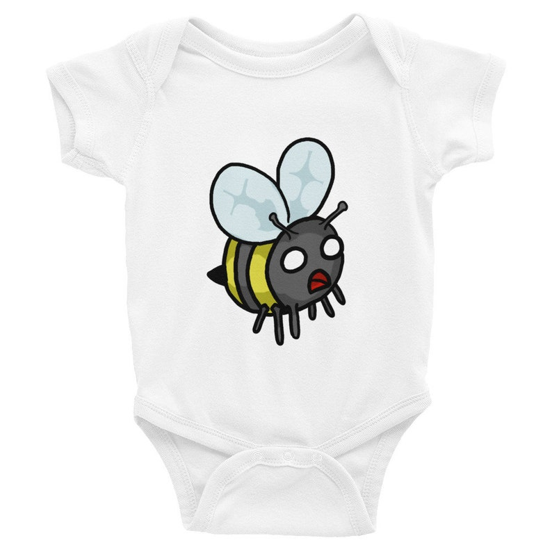 baby one piece funny gift Cute Bee Infant Bodysuit kids clothing baby shower baby creeper cute bug