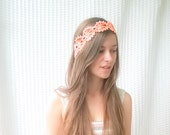 """Crocheted headband """"Pretty lace"""" - choose your color!"""