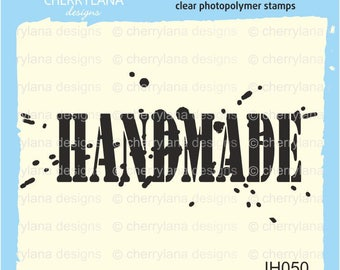 Handmade Stamp rubber clear photopolymer