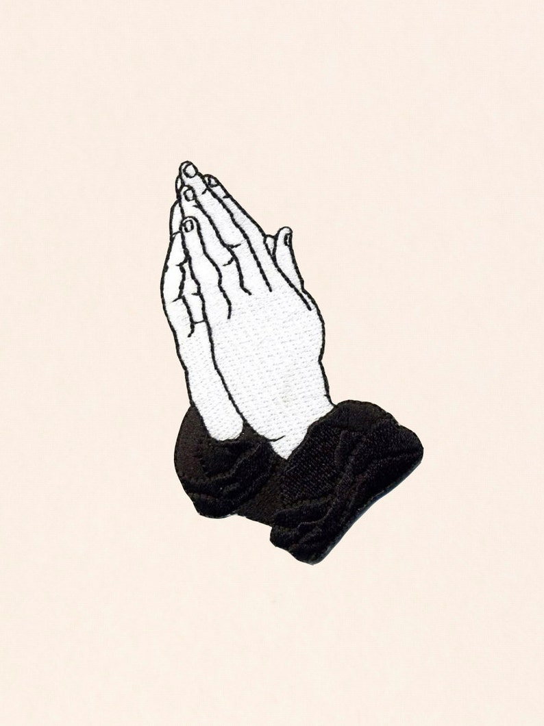 Praying Hands Patch 6 God Edition
