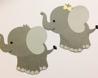 Elephant cut outs