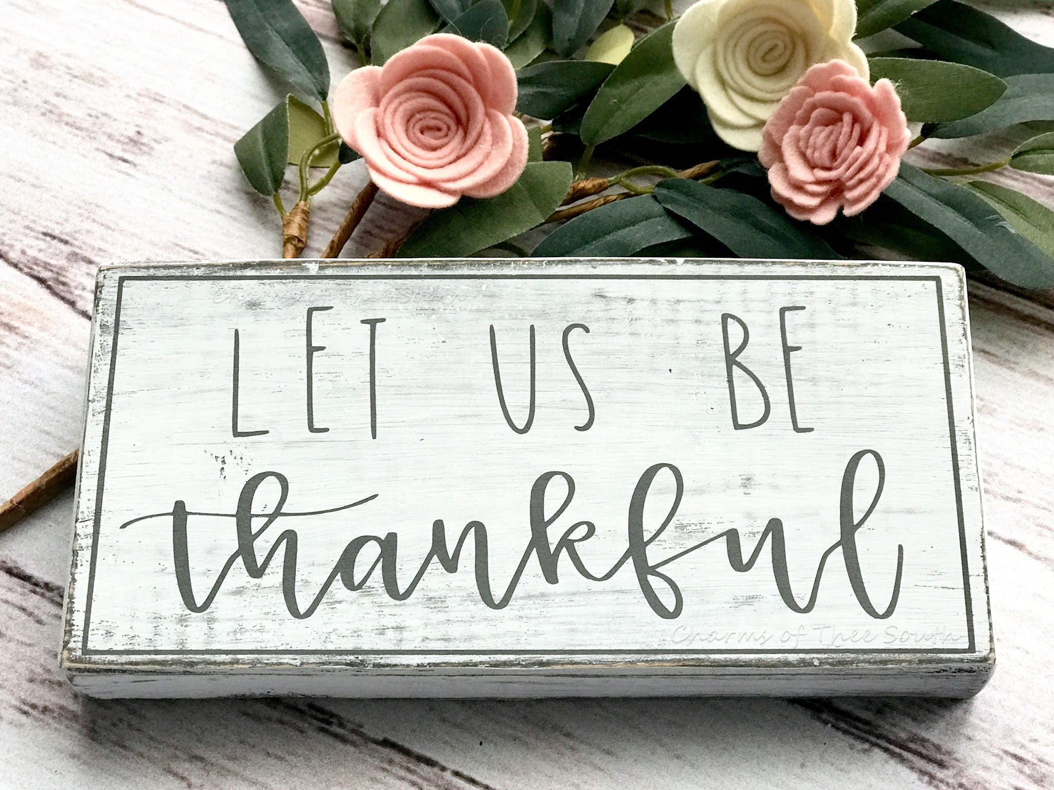 Thankful Sign   Mini Wood Sign   Dining Room Signs   Farmhouse Style Sign    Thanksgiving Signs   Wood Sign   Rustic Decor