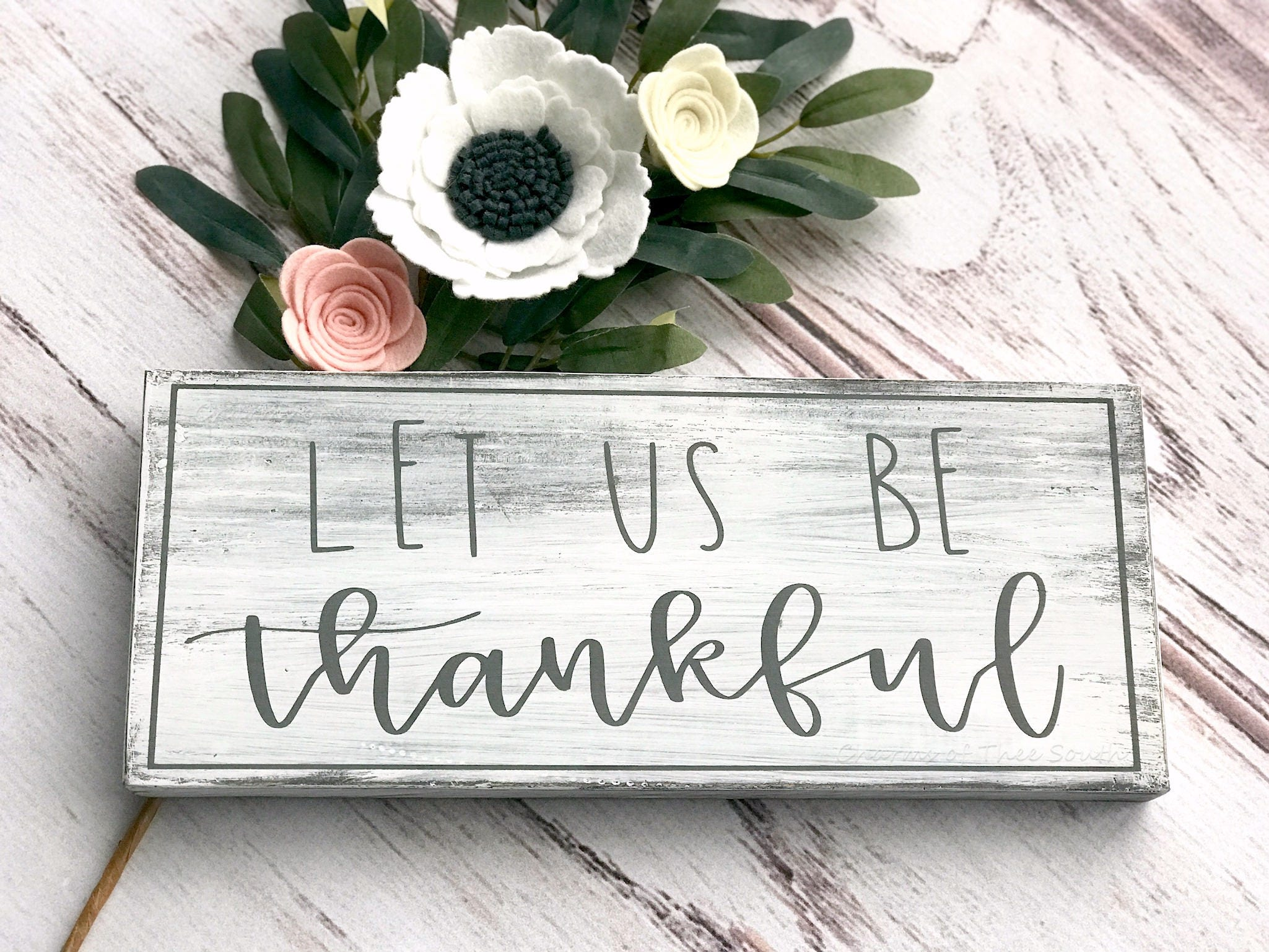 Genial Thankful Sign   Dining Room Signs   Farmhouse Style Sign   Thanksgiving  Signs   Wood Sign   Rustic Decor