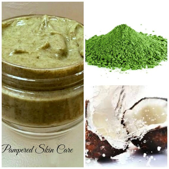 909444be0ff7 Japanese Organic Matcha Green Tea   Coconut Hair Paste Mask
