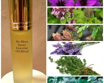 No More Snore Essential Oil Blend, Alleviates Snoring, Opens Passageways, Best Seller!