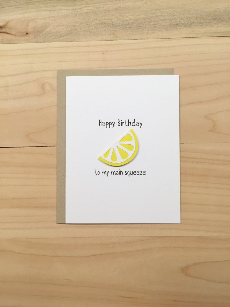 Funny Happy Birthday Card Spouse Girlfriend