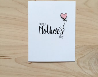Mother's Day Card, Cute Happy Mother's Day Card
