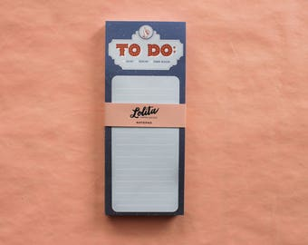 Marquee Thumbs Up Notepads | To Do List | 8.5x3.5 Notepad