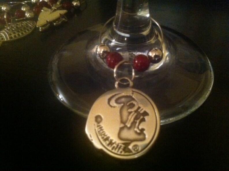 FSU Wine Charms