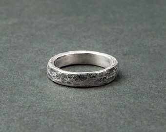 Silver (silver ring, aged look)