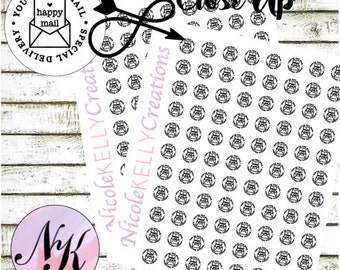 60 Happy Mail Stickers, Planner Stickers,mail Stickers,special delivery,use with Erin Condren Planner(TM),Happy Planner,planner,Travelers NB